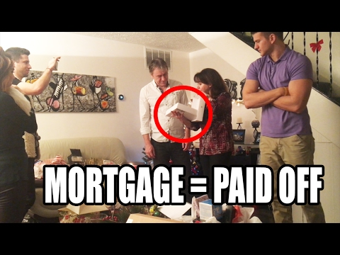 Son Pays Off Parents Mortgage On Christmas | First Vlog